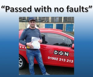 First Time Driving Test Pass Wolverhampton