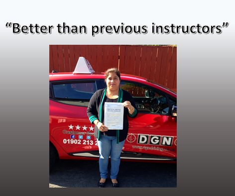 High Pass Rate Driving School Wolverhampton