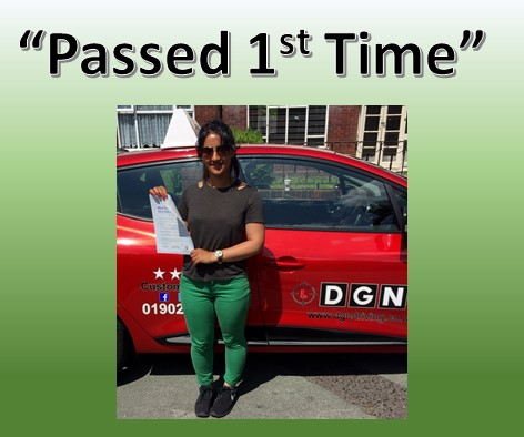First Time Practical Driving Test Pass Wolverhampton